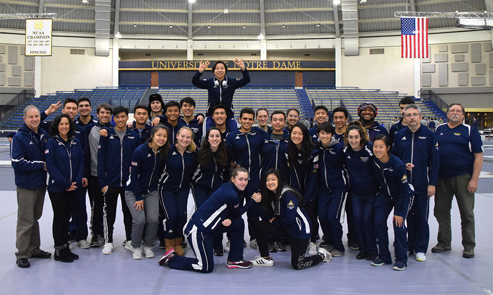 Through The Eyes Of An Ncaa Fencer Socal Division